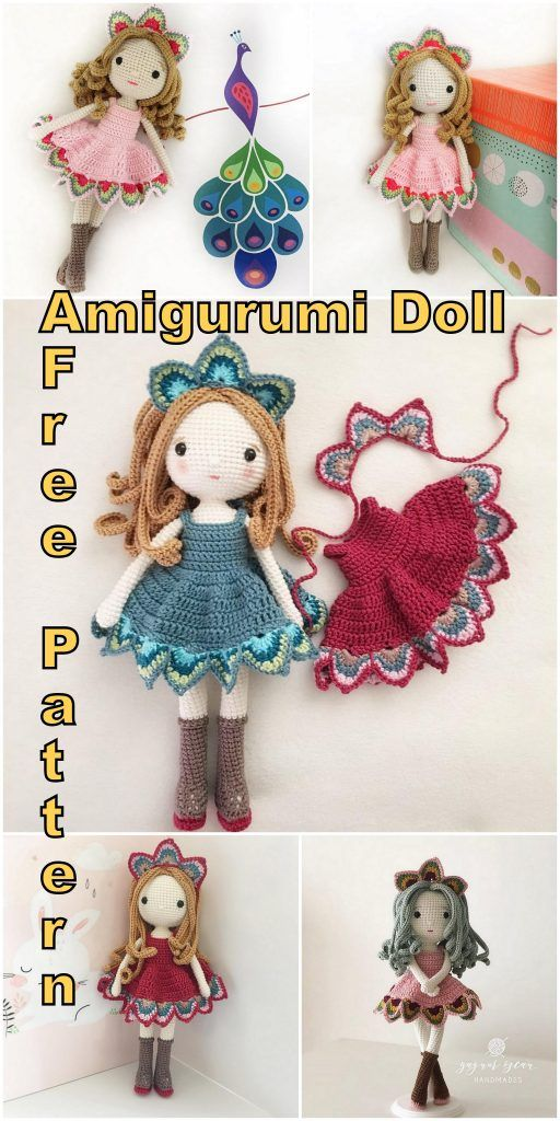 Lovely Amigurumi Doll, Animal, Plant, Cake and Ornaments Pattern ... | 1024x512