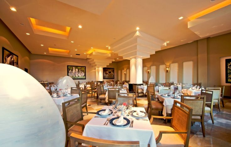 One of the restaurants at the Iberostar Rose Hall Resort.  To book your stay at the Iberostar Rose Hall Resort, speak to one of our Vacation Specialists at 1-888-685-6888 or read our blog for more: http://ow.ly/EH7q1.