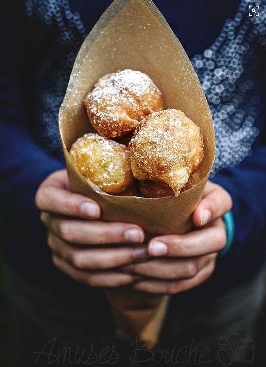 Mardi-Gras: des beignets à croquer sur Pinterest