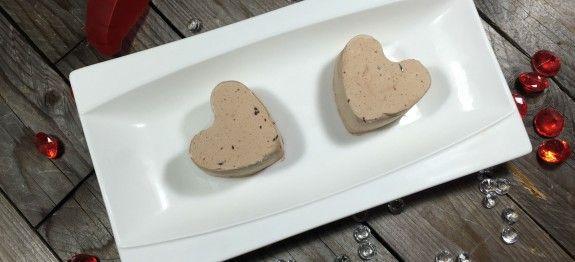 Cœurs givrés chocolat lait gingembre - Des Recettes à Gogo