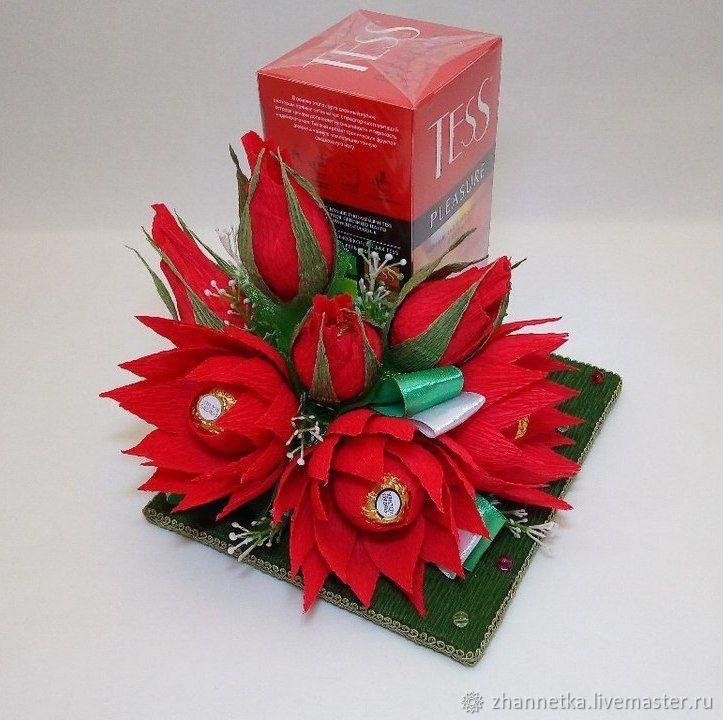 Сладкий презент – купить или заказать в интернет-магазине на Ярмарке Мастеров | Вкусное чаепитие с красивым подарком!<br /> <br…