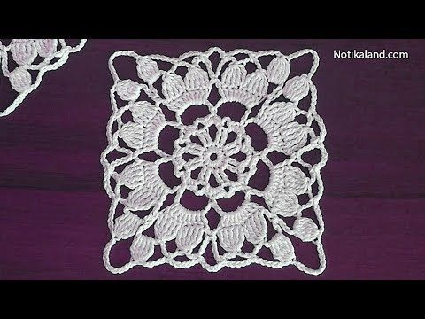 How to crochet easy for beginners Crochet motif dress pattern