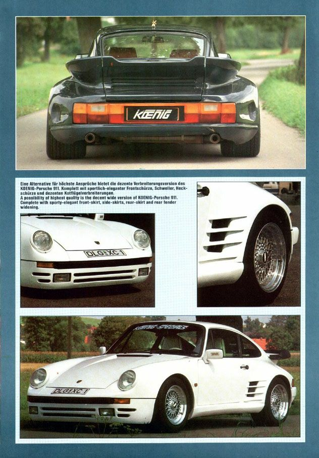porsche 911 koenig 1981