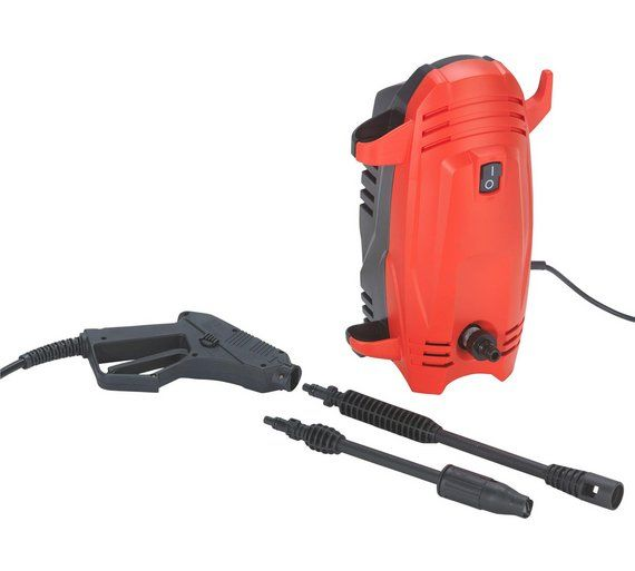 Buy Sovereign Pressure Washer - 1400W at Argos.co.uk - Your Online Shop for Pressure washers and accessories, Lawnmowers and garden power tools, Home and garden.