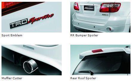 Exterior Toyota Fortuner VN Turbo SUV Terbaik di kelasnya