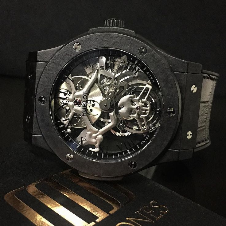 Introducing the LTD Edition Hublot skeleton Tourbillon  in and available @ MJJ