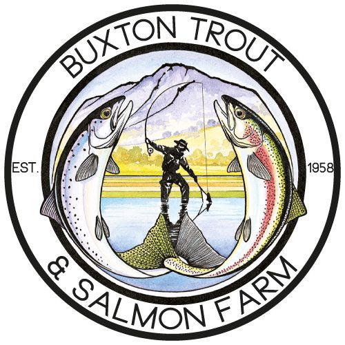Australia's first trout farm, Buxton Trout & Salmon Farm, pick up your rainbow trout, atlantic salmon, smoked trout, hand milked caviar or live trout fingerlings, or come fishing and relax!