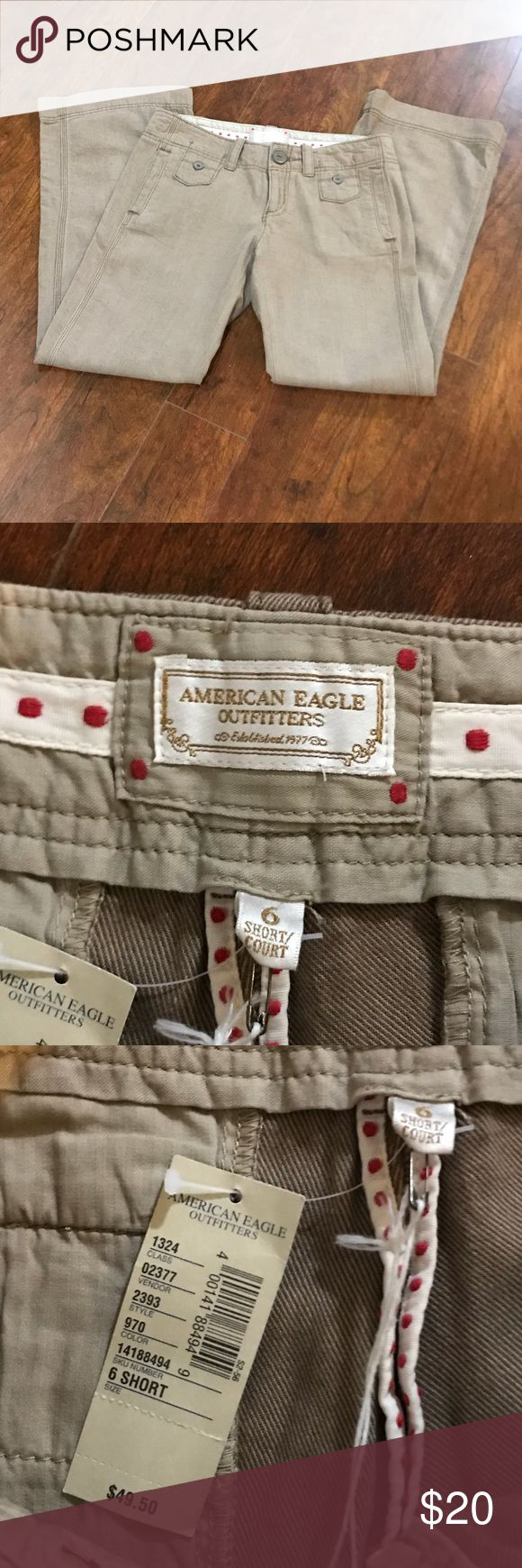 """NWT AMERICAN EAGLE BROWN WIDE LEG TROUSERS SZ 6S RISE- 8"""" INSEAM- 28""""  NEW WITH TAGS! NO DEFECTS! BEAUTIFUL BROWN TROUSERS   Please feel free to message me if you may have any questions.   Thank you for stopping by Please be sure to check us out daily for new inventory. American Eagle Outfitters Pants Trousers"""