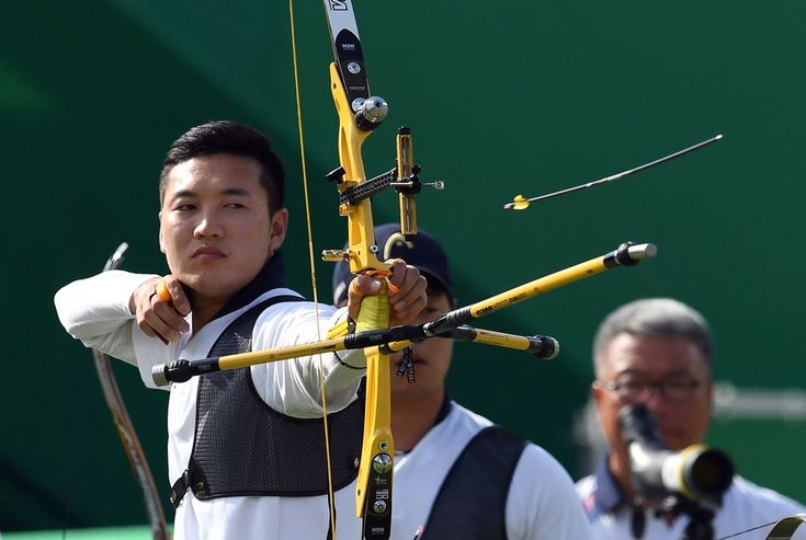 Day 1: Archery Men's Team - Bonchan Ku of Korea