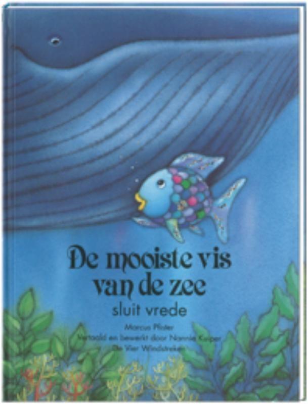Marcus Pfister - De mooiste vis van de zee sluit vrede. Deel 3, Met glinsterfolie