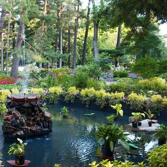 Munsinger and Clemens Gardens in St. Cloud, Minnesota. #OnlyinMN