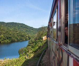 Passeio de trem até Curitiba