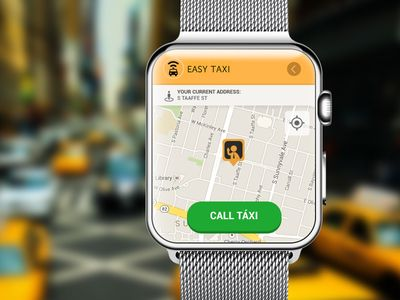 Easy Táxi App for Apple Watch