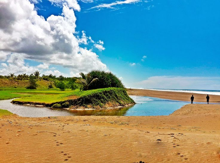 Pantai Bopong Jawa Tengah Indahnya Laguna di Tepi Pantai - Jawa Tengah