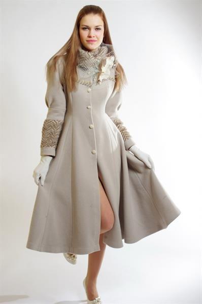Модные авторские пальто полупальто демисезонное