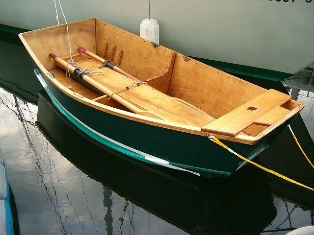Phil Bolger Elegant Punt   8 ft x 4 ft sailing tenders. A ...