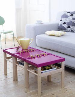 #DIY Coffeetable - #101woonideeen.nl - Dutch interior and crafts magazine