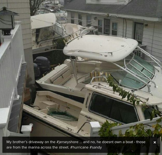 Atlantic Highlands | 25 Incredible Pictures Of Hurricane Sandy's Destruction In New Jersey