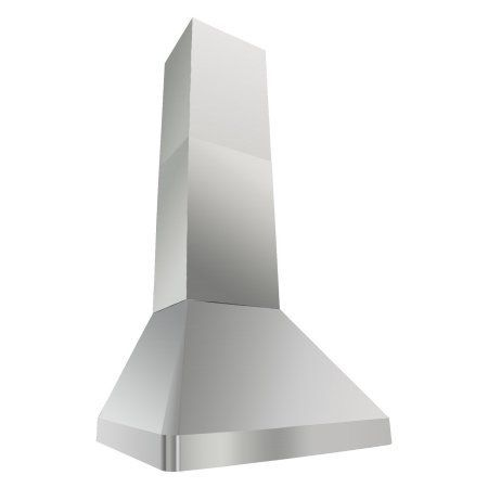 Kobe RAX9530SQB-DC48-1 Brillia 30-inch Wall Mount Range Hood, 3-Speed, 760 CFM, LED Lights, Baffle Filters, Silver