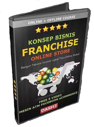 Konsep Bisnis Franchise Online Store dengan menggunakan smart phone mu