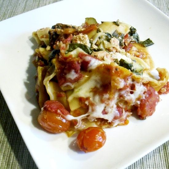 Healthy Slow Cooker Lasagna Learn how to make this recipe [break]after