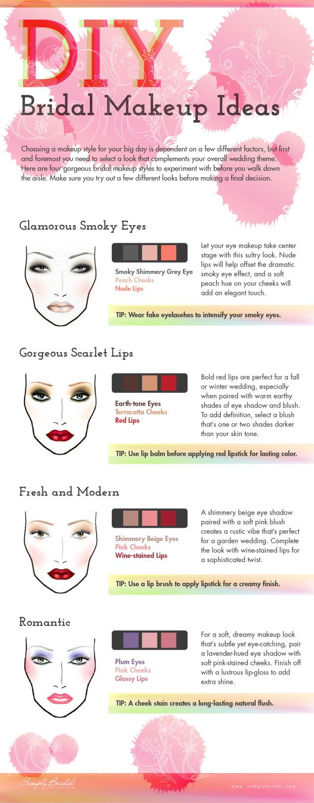 Save time and money by doing your own makeup for your wedding! Check out these tips for wedding day makeup. | Mary Kay
