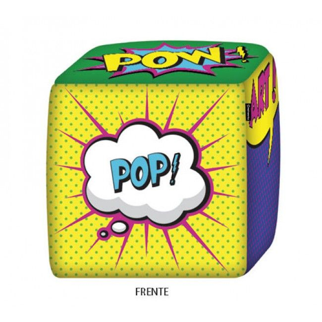 Puff pop art super criativo