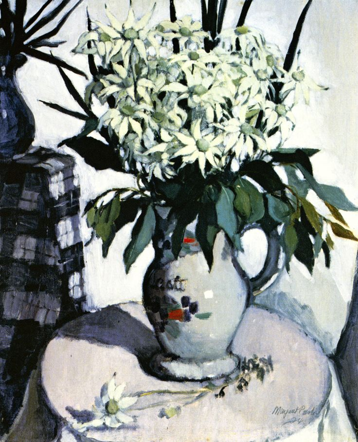 Margaret Preston - 'Flannel Flowers'. 1924
