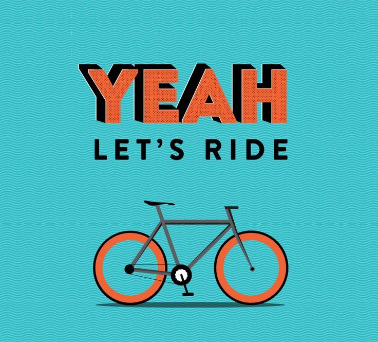 in love with my bike #bike #illustration #love #illustrator #typography #ride