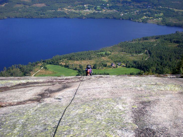 Mountain Climbing on Skrede Mountain!!