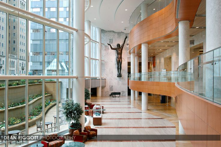 Mayo Clinic's Ghonda Building in Rochester, Minnesota ...