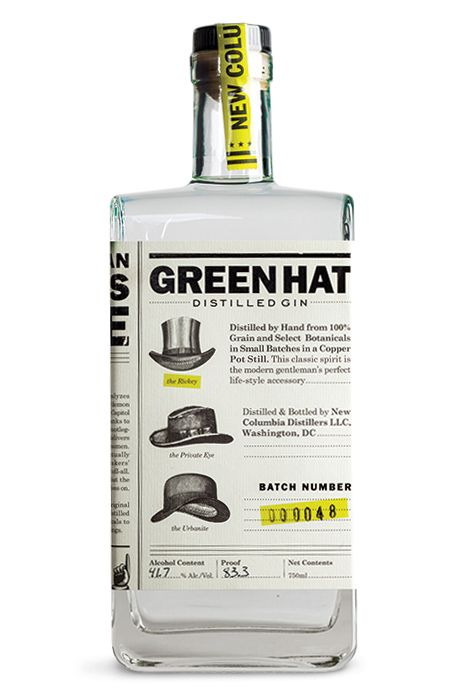 One Good Bottle: Green Hat Gin | SAVEUR