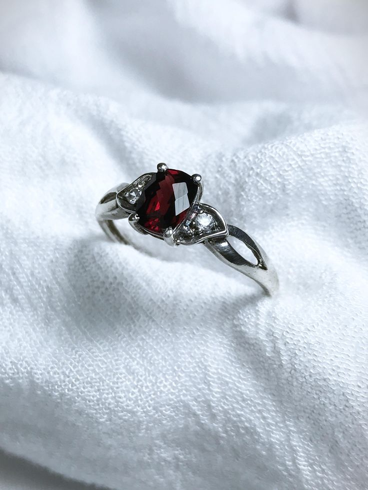 Just launched! Sterling Silver Cushion Garnet Ring 8.5 https://www.etsy.com/listing/545834510/sterling-silver-cushion-garnet-ring-85?utm_campaign=crowdfire&utm_content=crowdfire&utm_medium=social&utm_source=pinterest