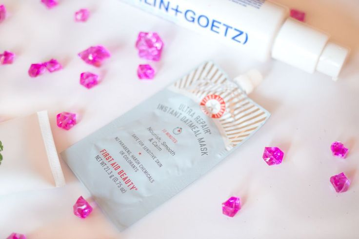 7 Favorite Face Masks // First Aid Beauty Ultra Repair Instant Oatmeal Mask Review // Hello Rigby Seattle Beauty & Skincare Blog