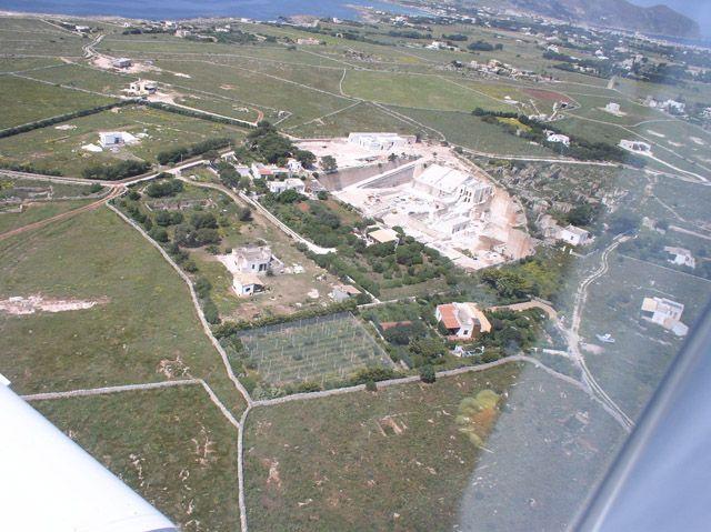 STUDIO CUSENZA + SALVO. Cave Bianche Hotel. Favignana Island. Sicilia. Italy. 2003.