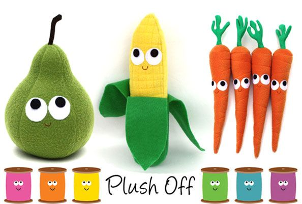 Muñecos de 'Plush Off'! http://www.dadanoias.net/2012/04/10/plush-off-munecos-para-sonreir/