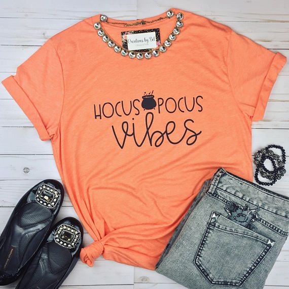 Hocus Pocus Shirt / Hipster Shirt / Halloween Shirt / Graphic