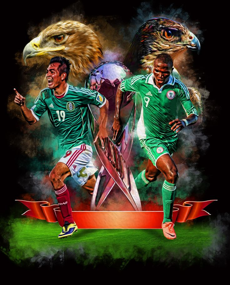 Mexico Vs Nigeria U17 by icaroGraf on deviantART