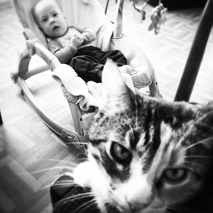 #sweetchild #instaboy #kitty #sisandbro