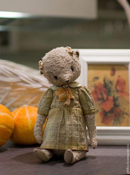 Сонечка - бежевый,тедди,тедди мишка,teddy,teddy bear,мишка,мишка тедди авторский