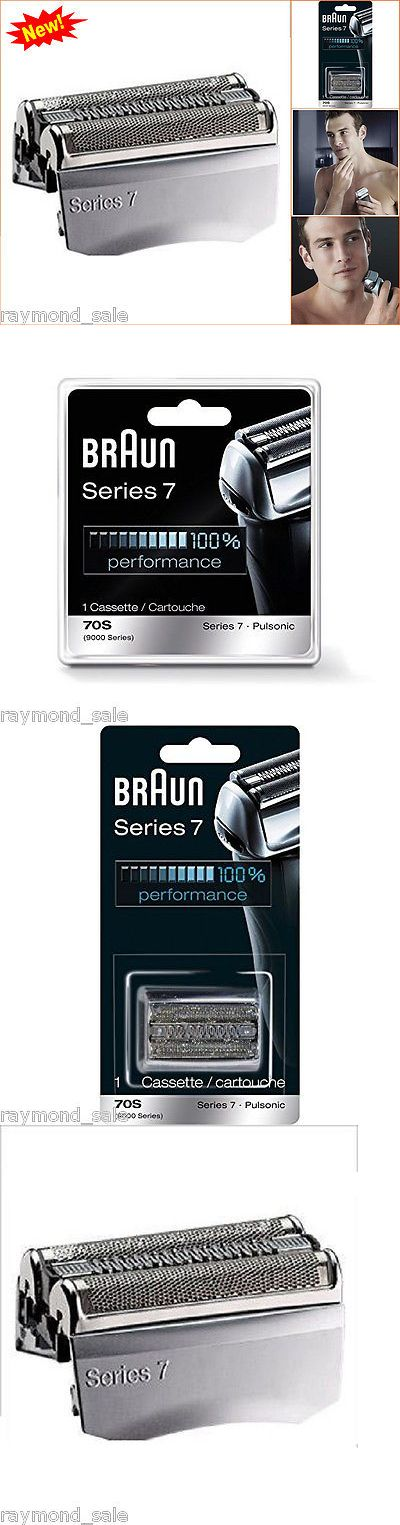Shaver Parts and Accessories: Braun Pulsonic Series 7 Shaver Parts Replacement Foil Head Blade Cassette Cutter BUY IT NOW ONLY: $129.99