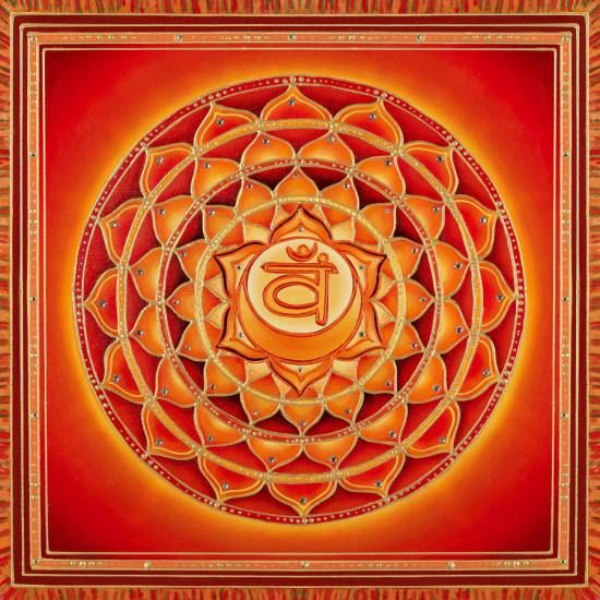 Second Chakra Light  available at www.mandalas.com