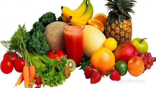 Sağlıklı ve zayıf olmanın sırrı daha fazla alkalik gıdalar tüketmektir.