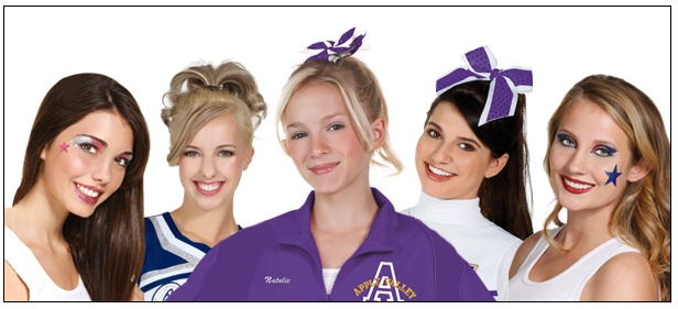 Hair and Makeup Ideas for Cheerleading Competitions