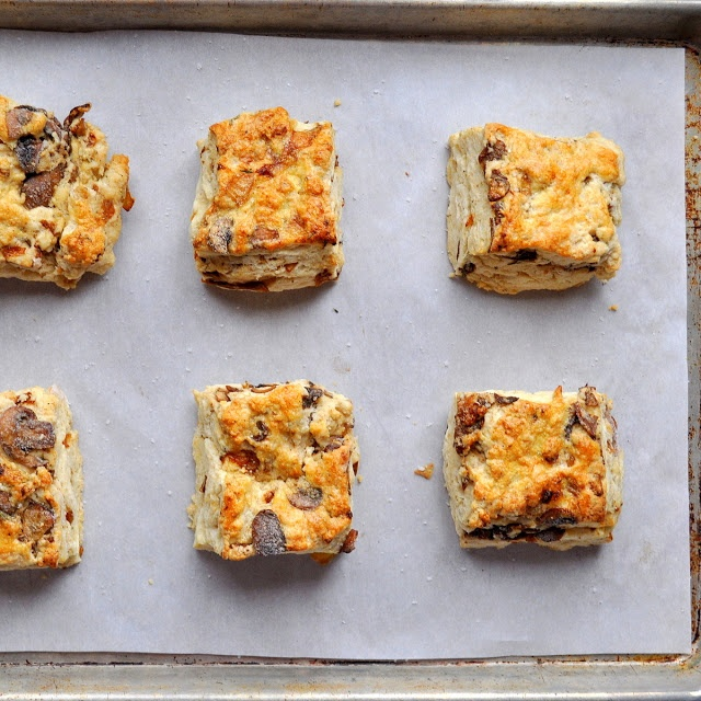 Caramelized Mushroom and Onion Biscuits | Favorite Recipes | Pinterest