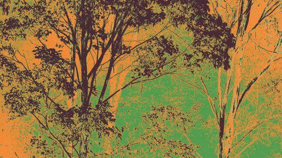 Jade Green Eucalypts by BlackbirdArtDesign on Etsy, $35.00