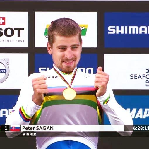 "Peter Sagan - majster sveta v cestnej cyklistike ""Elitte"" 2017 v Bergene"
