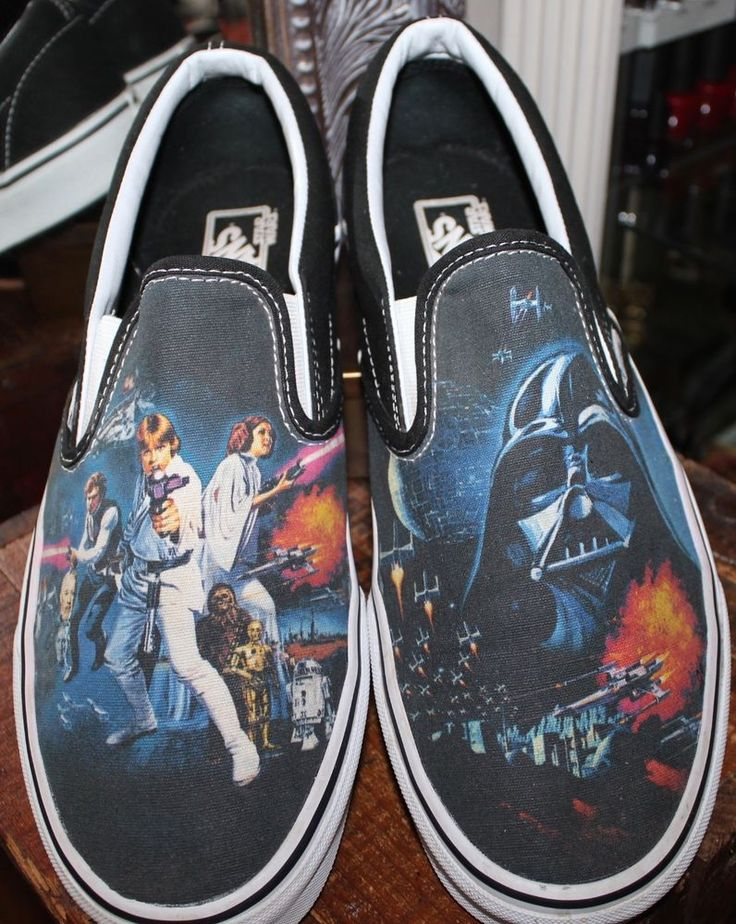 Vans Star Wars A New Hope Casual Loafer Shoes Mens 12 #Vans #casual