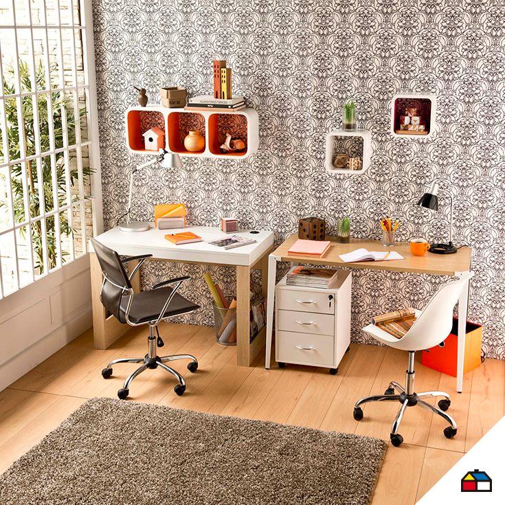 Decora tu lugar de estudio con un estilo propio combinando for Mesa 4 sillas homecenter