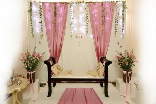 diy mini pelamin tunang - Google Search
